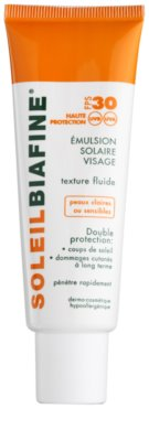 Biafine Soleil schützendes Fluid für sehr empfindliche und helle Haut SPF 30