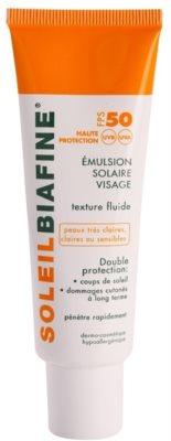 Biafine Soleil opalovací emulze na obličej SPF 50