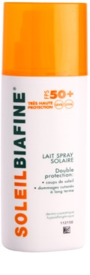 Biafine Soleil молочко для засмаги  у формі  спрею SPF 50+