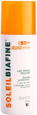 Biafine Soleil leche solar en spray SPF 50+