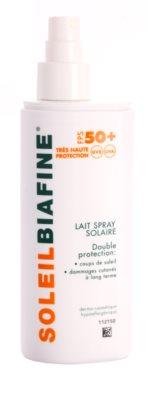 Biafine Soleil слънцезащитно мляко в спрей SPF 50+ 1