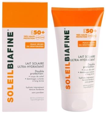 Biafine Soleil хидратиращо мляко за тен SPF 50+ 1