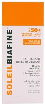 Biafine Soleil хидратиращо мляко за тен SPF 50+ 2