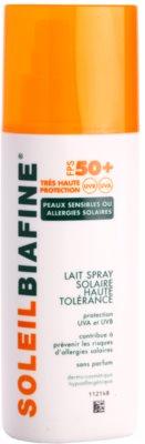 Biafine Soleil spray solar para pele alérgica ao sol SPF 50+