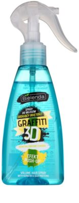 Bielenda Graffiti 3D Effect Push-Up styling Spray für Volumen und Glanz
