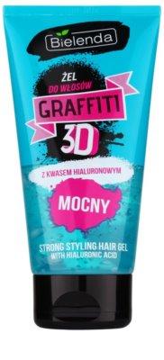 Bielenda Graffiti 3D Strong styling gel  cu acid hialuronic