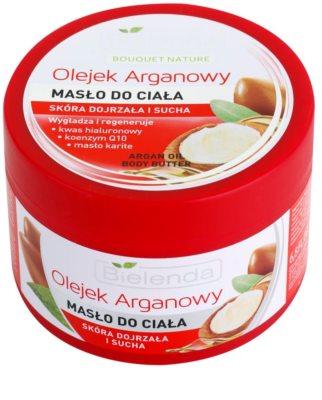 Bielenda Argan Oil manteiga corporal  para pele seca