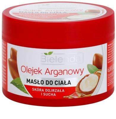 Bielenda Argan Oil manteiga corporal  para pele seca 1