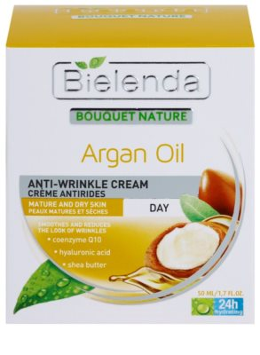 Bielenda Argan Oil crema de zi hidratanta pentru ten matur 2