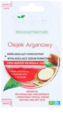 Bielenda Argan Oil odmładzający koncentrat + Wygładzające serum do skóry dojrzałej