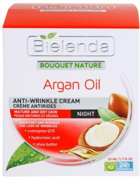 Bielenda Argan Oil noční regenerační a protivráskový krém pro suchou pleť 2