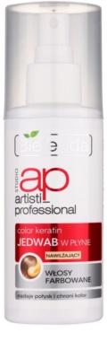 Bielenda Artisti Professional Color Keratin Mătase lichidă spray pentru par vopsit