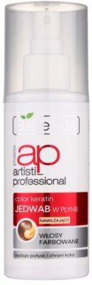 Bielenda Artisti Professional Color Keratin tekuté hedvábí ve spreji pro barvené vlasy