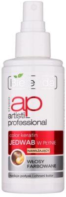 Bielenda Artisti Professional Color Keratin Mătase lichidă spray pentru par vopsit 1