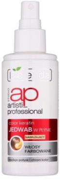 Bielenda Artisti Professional Color Keratin flüssige Seide im Spray für gefärbtes Haar 1