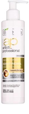 Bielenda Artisti Professional Repair Keratin balsam hidratant pentru par uscat si deteriorat