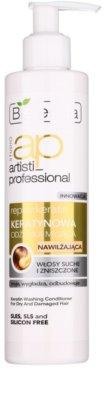 Bielenda Artisti Professional Repair Keratin зволожуючий кондиціонер для сухого або пошкодженого волосся
