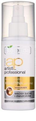 Bielenda Artisti Professional Repair Keratin flüssiges Keratin für trockenes und beschädigtes Haar