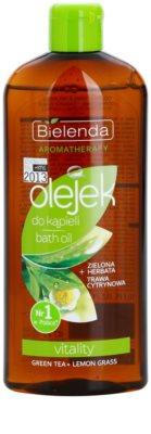 Bielenda Aromatherapy Vitality óleo de banho e duche para pele fina e lisa