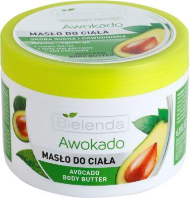 Bielenda Avocado Körperbutter für trockene und sehr trockene Haut
