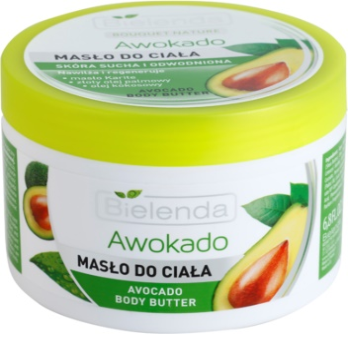 Bielenda Avocado unt  pentru corp pentru pielea uscata sau foarte uscata