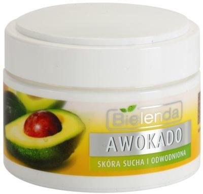 Bielenda Avocado hydratisierende und nährende Creme für trockene Haut