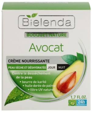 Bielenda Avocado hydratisierende und nährende Creme für trockene Haut 2