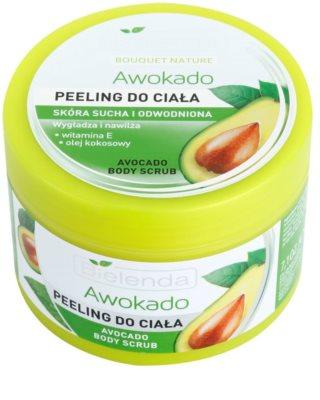 Bielenda Avocado Körperpeeling für trockene Haut