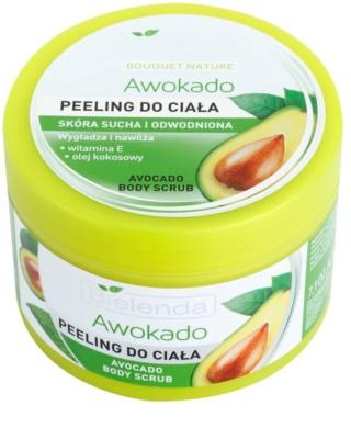 Bielenda Avocado tělový peeling pro suchou pokožku