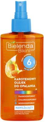 Bielenda Bikini Carotene olejek do opalania nawilżający w sprayu SPF 6 1