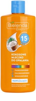 Bielenda Bikini Coconut hydratisierende Sonnenmilch SPF 15