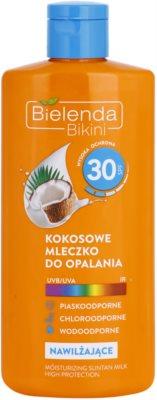 Bielenda Bikini Coconut leite after sun hidratante  SPF 30