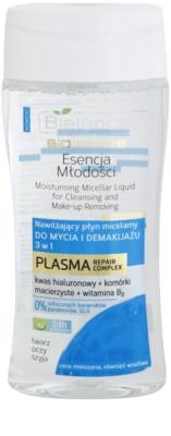 Bielenda BioTech 7D Essence of Youth 30+ água micelar de limpeza 3 em 1