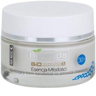 Bielenda BioTech 7D Essence of Youth 30+ Feuchtigkeitsspendende Nachtcreme für erste Falten