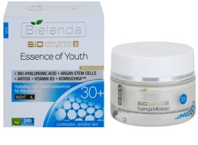 Bielenda BioTech 7D Essence of Youth 30+ Feuchtigkeitsspendende Nachtcreme für erste Falten 1