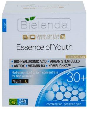 Bielenda BioTech 7D Essence of Youth 30+ Feuchtigkeitsspendende Nachtcreme für erste Falten 2