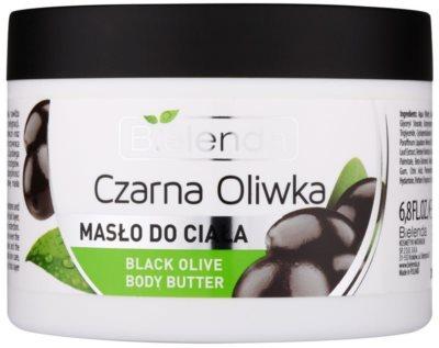 Bielenda Black Olive Körperbutter für trockene und sehr trockene Haut