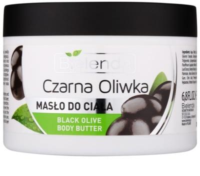 Bielenda Black Olive unt  pentru corp pentru pielea uscata sau foarte uscata