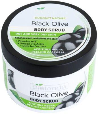 Bielenda Black Olive tělový peeling pro suchou až velmi suchou pokožku