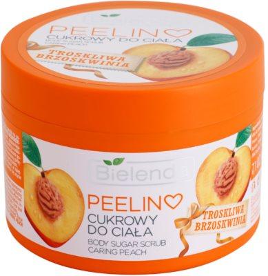 Bielenda Caring Peach peeling corporal com açúcar