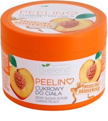 Bielenda Caring Peach peeling corporal cu zahar