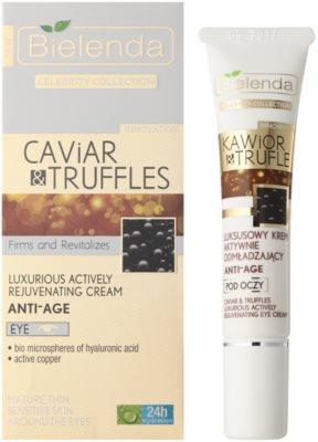 Bielenda Celebrity Collection Caviar&Truffles aktywnie odmładzający krem do oczu 1