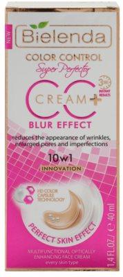Bielenda Color Control Blur Effect CC krém proti vráskám 2
