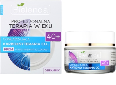Bielenda Professional Age Therapy Rejuvenating Carboxytherapy CO2 Anti-Faltencreme 40+ 1