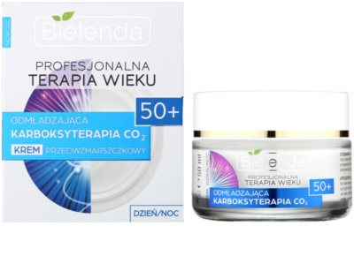 Bielenda Professional Age Therapy Rejuvenating Carboxytherapy CO2 Anti-Faltencreme 50+ 1