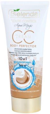 Bielenda Color Control Body Perfector CC creme à prova d'água com efeito de bronzeamento artificial