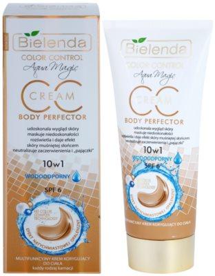 Bielenda Color Control Body Perfector Wasserfeste CC Creme mit Bräunungseffekt 1