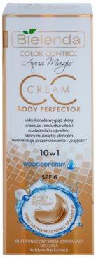 Bielenda Color Control Body Perfector Wasserfeste CC Creme mit Bräunungseffekt 2