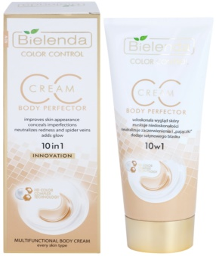 Bielenda Color Control Body Perfector CC Creme für den Körper mit glättender Wirkung 1