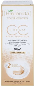Bielenda Color Control Body Perfector CC Creme für den Körper mit glättender Wirkung 2